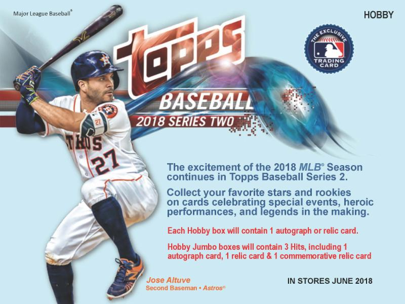 2018 Topps Series 2 Baseball Cards Sell Sheetpage1 Eddies
